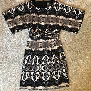 Taylor snakeskin dress
